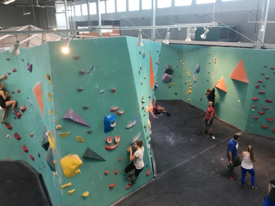 Bouldering club reaches new heights